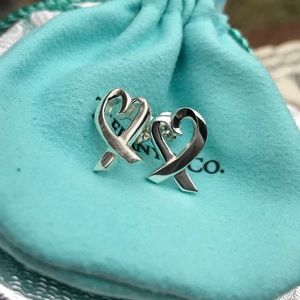 Tiffany&Co Paloma Picasso Loving Heart Earrings